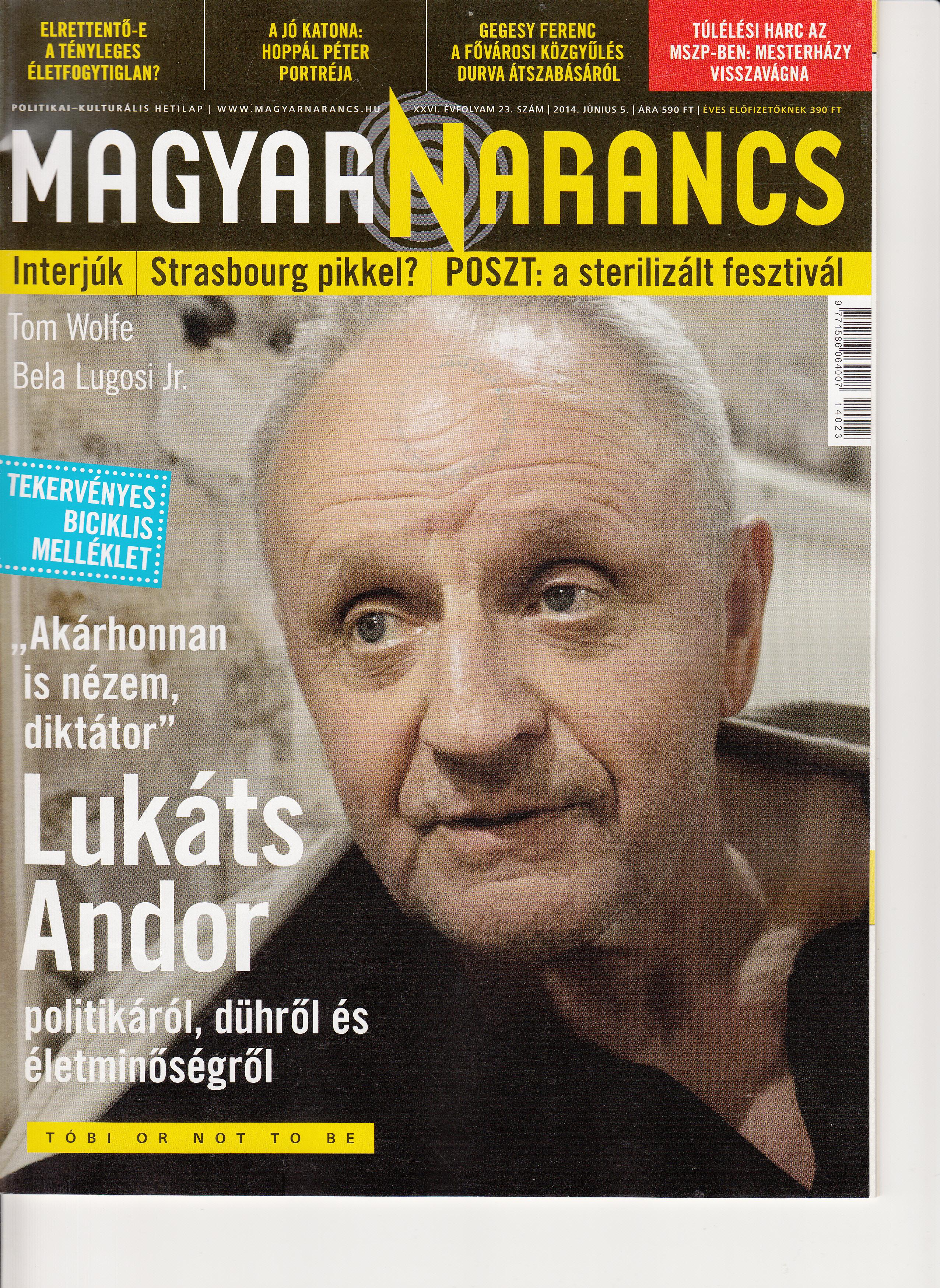 Magyar Narancs 2014 23.  884b45d4bb