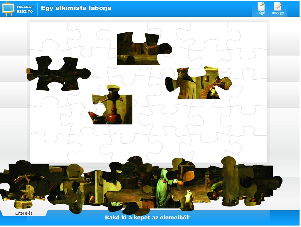 Puzzle képekből